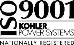Kohler power systems are ISO 9001 approved