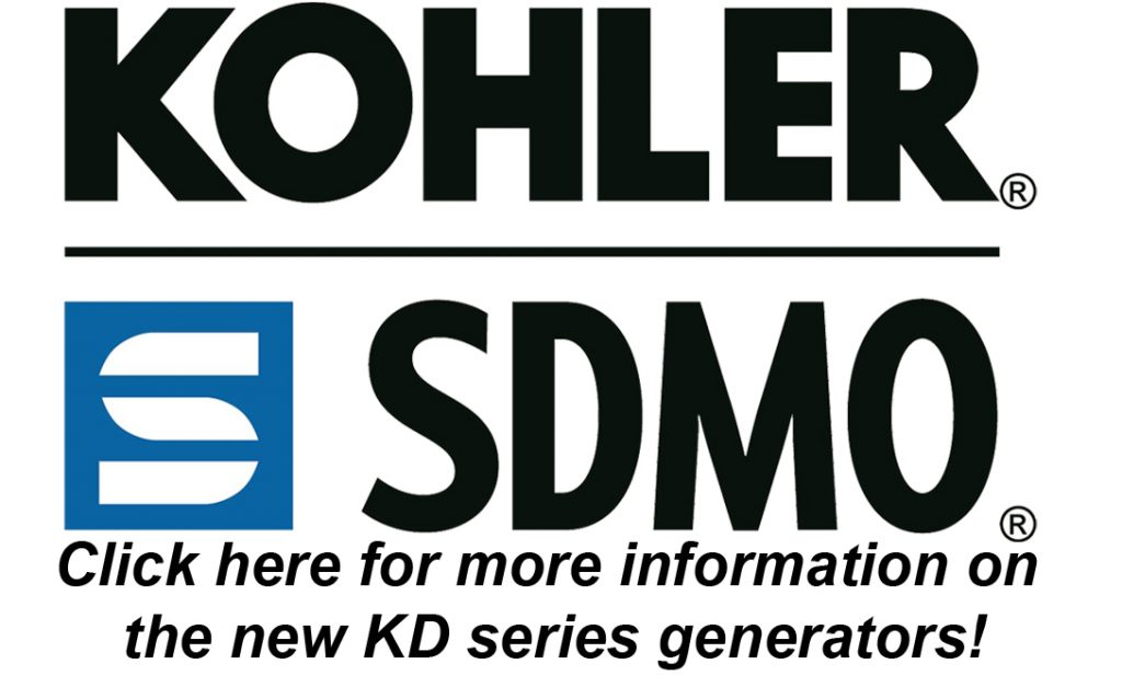 Kohler KD Series industrial generators